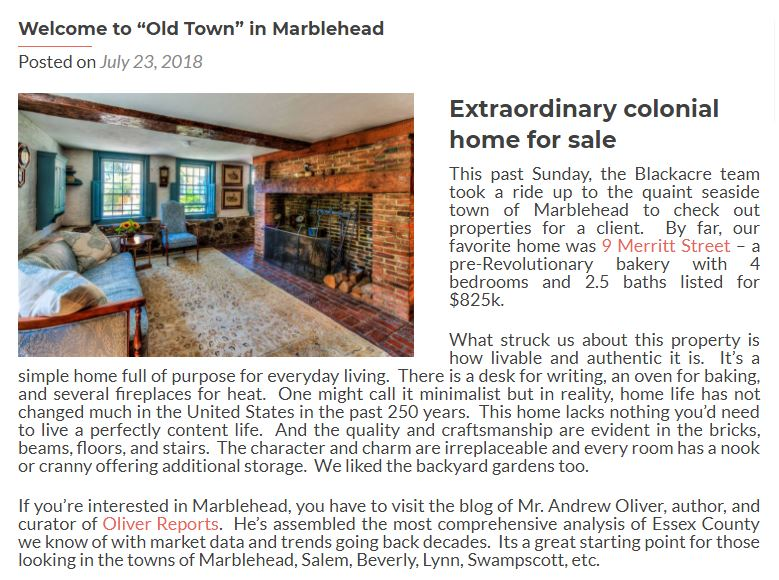 Marblehead real estate